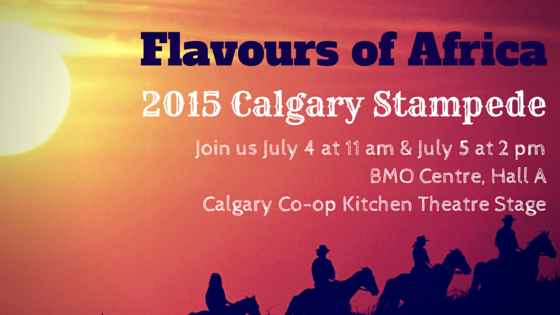 Flavours of Africa live at the 2015 Calgary Stampede